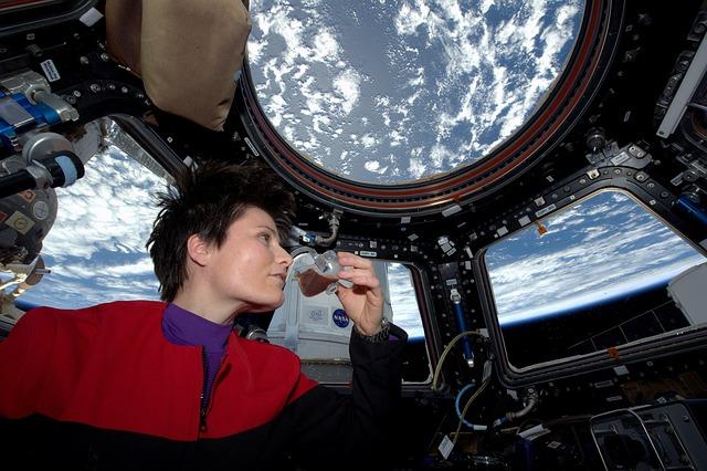 Astronautka na ISS