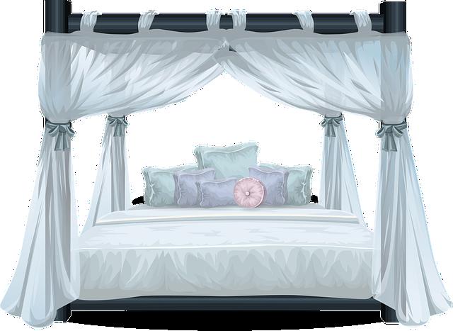 postel s nebesy